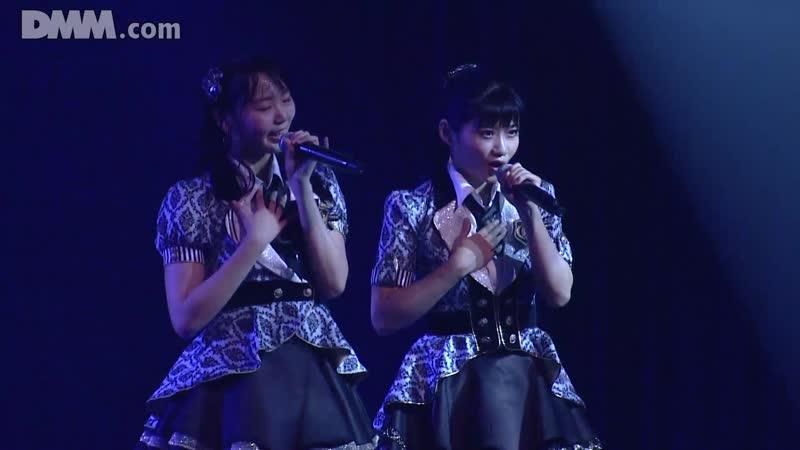 NMB48 Team BII Mirai ga Me ni Shimiru @ 190618 NMB48 Stage BII5