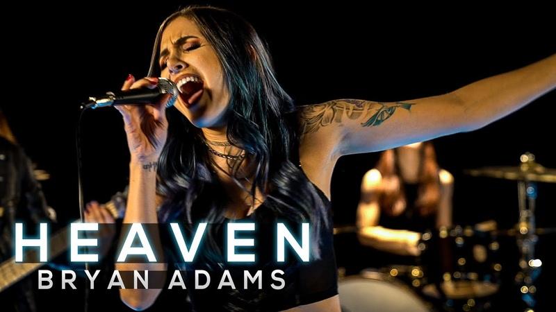 Heaven Bryan Adams Cole Rolland Halocene Kristina Schiano Anna Sentina Cover