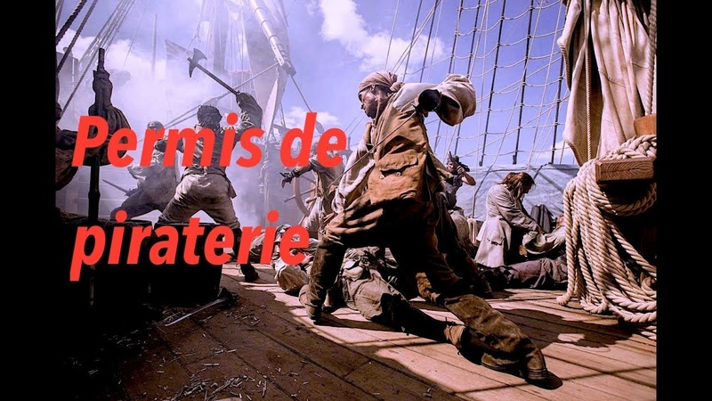Permis de piraterie - Sea of thieves - Brut stream HD