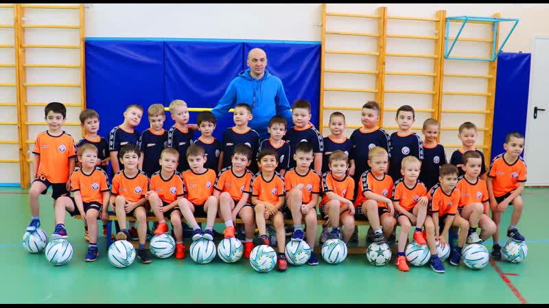 Покачи 25 января 2020 год СОШ №1 Посвящение в юные футболисты...