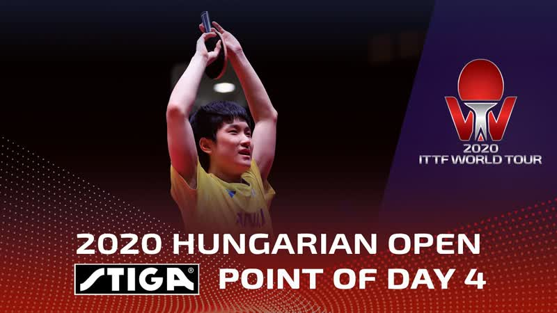 STIGA Point Of The Day 4 Hungarian Open 2020
