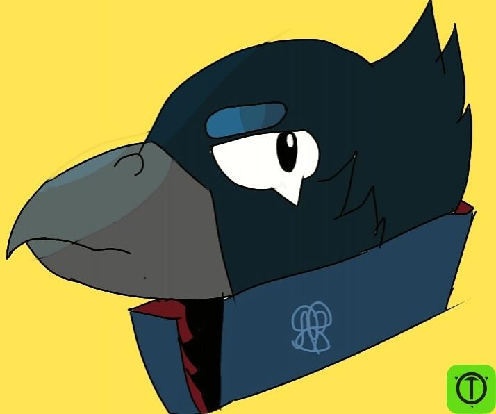 #Арт Первый раз рисую птиц  Принимаю любую