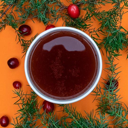 Авторские чаи: Чай клюква–можжевельник