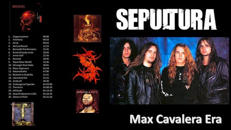 Sepultura Greatest Hits Max Igor Cavalera Andreas Kisser and Paulo Jr Era
