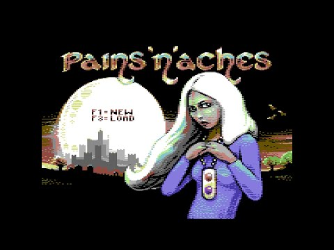 Pains n Aches C64 2018 . Стрим 2