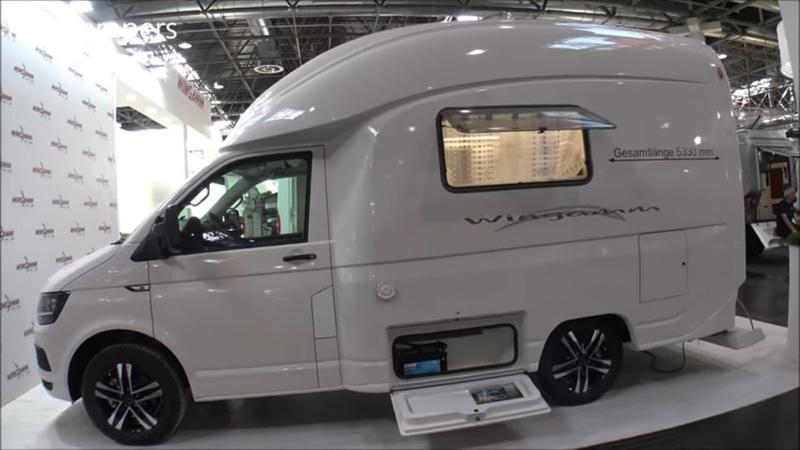Small camper WINGAMM MICROS VW T6 150HP CAMPER 2020