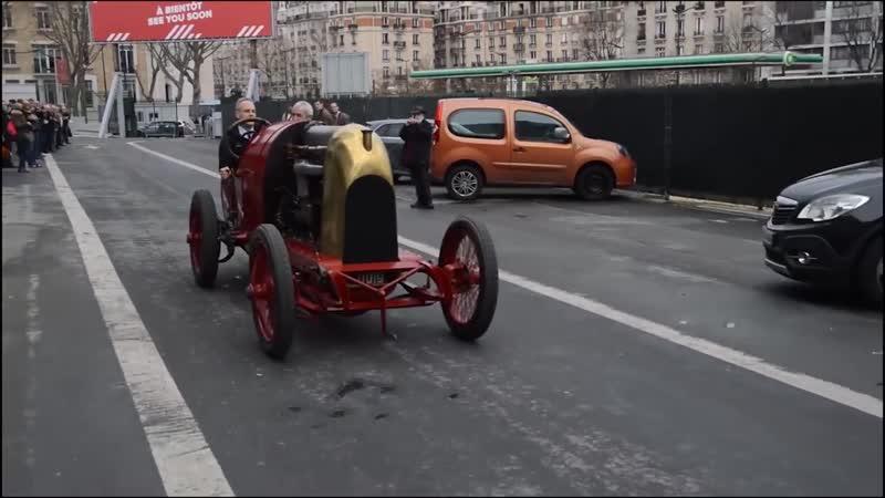 100-летний суперкар с 30-литровым движком рвет все шаблоны! Рекорд скорости и редкий суперкар