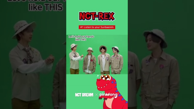 Listen to your Sunbaenim NCT DREAM x Pinkfong Dino A to Z Behide the scenes shorts
