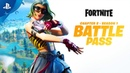 Fortnite Chapter 2 Season 1 Battle Pass Gameplay Trailer PS4