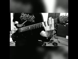 Insect inside - guitar recording