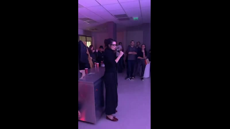 Stana's speech at the Absentia season 3 wrap party 16.12.19