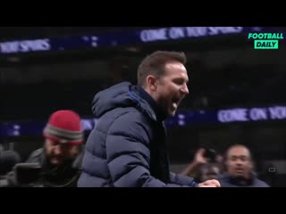You can see what this win means for frank lampard