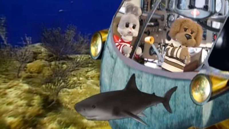 Кругосветное путешествие вместе с Хрюшей Подводный мир Обучающие передачи для детей