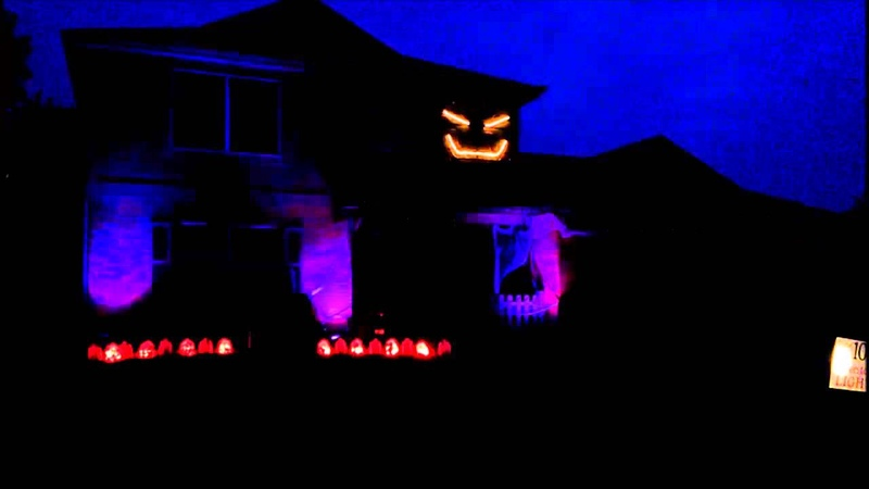 Halloween Lights Metallica For Whom The Bell Tolls 2013 TippLightShow