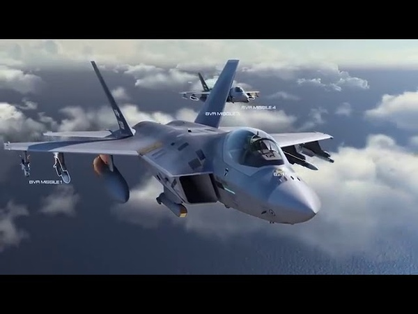 Южнокорейский перспективный истребитель KF X против Су 35