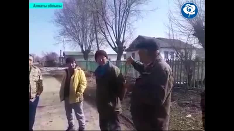 Алматы облысы Бірлік ауылының тұрғыендары ЖСДП-дан көмек сұрады