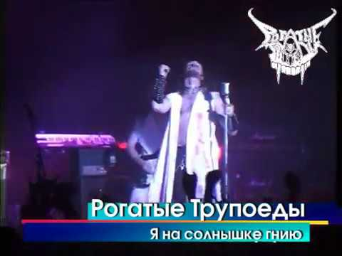 Рогатые Трупоеды Я на солнышке гнию Live klip
