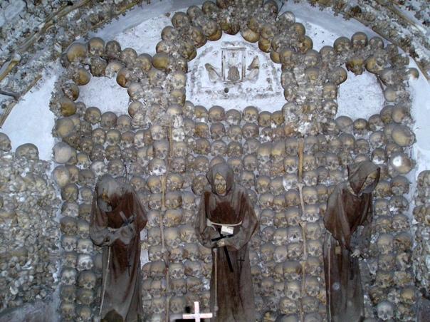 Крипта капуцинов в церкви Санта-Мария-делла-Кончеционе, Рим