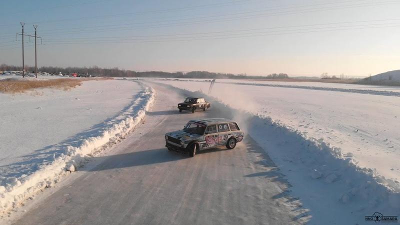 Финальный этап Agregatka Winter Drift Cup День 1 Сергиевский район Самарская область
