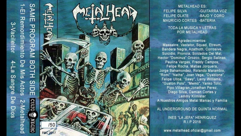 Metalhead Ep Dic 2017 Quinta Normal Santiago de Chile