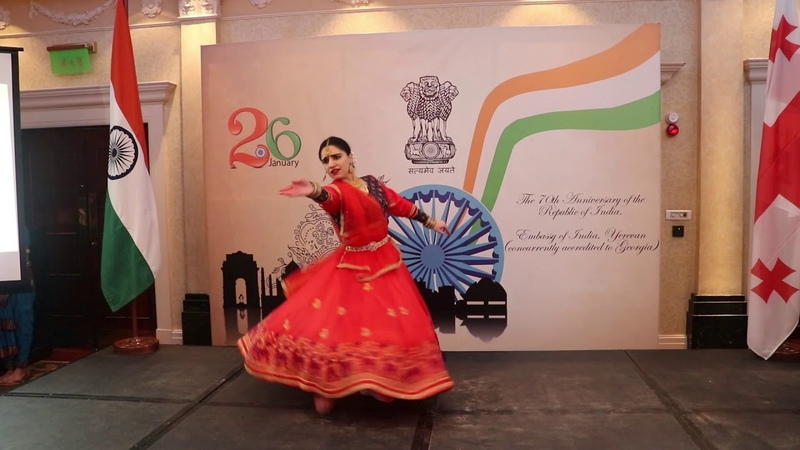 71st Republic Day of India in Georgia Tarana Raag Kalavati Dance By Rima Shamo