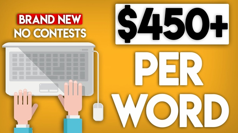 Earn $450 Per Word NOT WHAT YOU THINK Work From Home