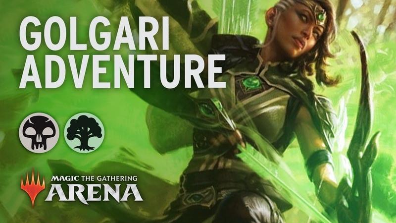 Golgari Adventure   Eldraine Guide [MTG Arena]
