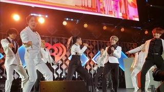 191206 Boy With Luv with Halsey @ BTS 방탄소년단 Jingle Ball LA Live Concert Fancam