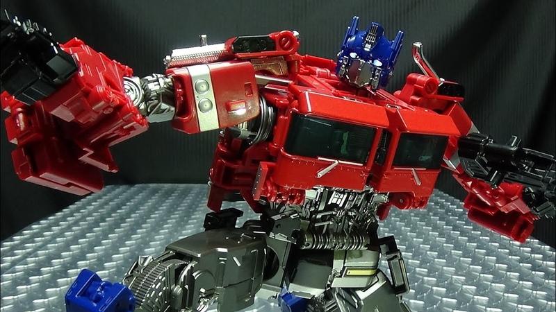 Wei Jiang AUTOBOT APEX (KO Upscaled SS 38 Optimus Prime) EmGos Transformers Reviews N Stuff