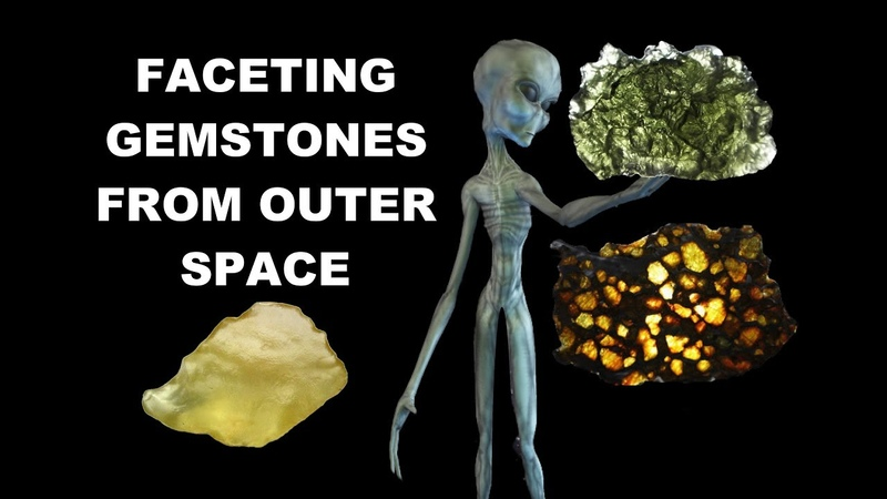 Faceting Gemstones From Outer Space