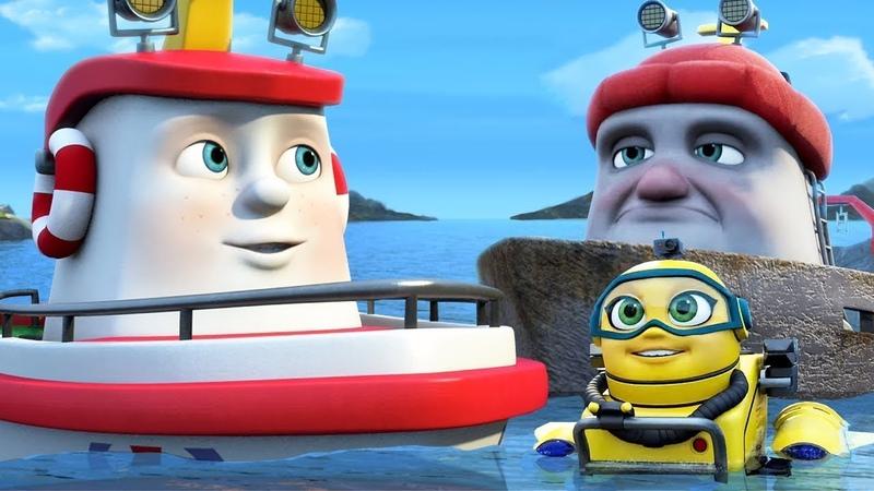 Мультик для детей про Кораблик Элаяс Поднять якоря Развивающие мультфильмы про корабли