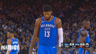 All Paul George's Posterizes! With Beat Drops! Embarrasses LeBron and More