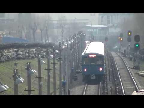 Уходящая эпоха Поезд метро 81 710 Еж3 Ем 508Т в Московском метрополитене