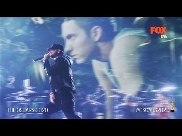 """The Oscars 2020 Legendary comeback from Eminem Lose Yourself"""" Live FOX"""