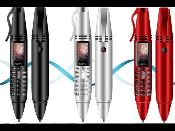 Купить ручку мини телефон SERVO K07 двойная SIM камера Фонарик ЛУЧШАЯ ЦЕНА НА АЛИЭКСПРЕСС