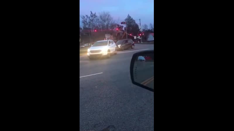 Train Crashes into Tractor-Trailer in Saint Stephen - ViralHog