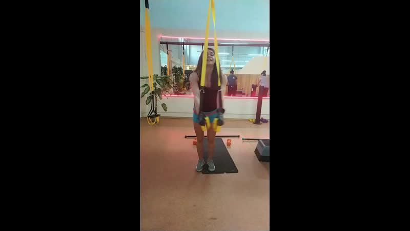 TRX тренировка в Адреналине