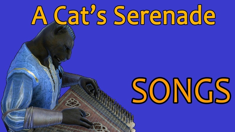 ESO Songs A Cat's Serenade Male Version