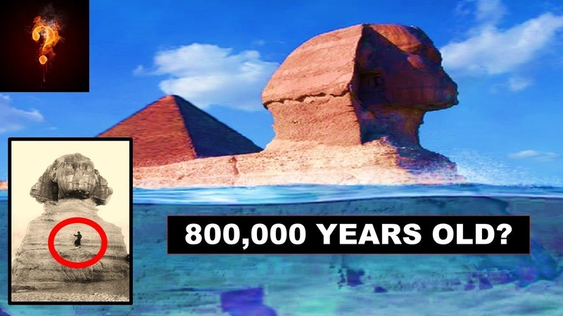 Scientists Blow Whistle On True Age of The Great Sphinx