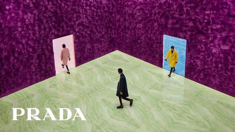 Prada FW21 Menswear Collection conversation with Miuccia Prada and Raf Simons to follow