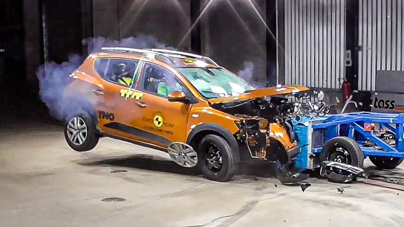 Bad Crash Test Rating for the 2021 Dacia Sandero Stepway