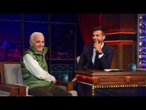 Вечерний Ургант Шарль Азнавур 356 выпуск 02 10 2014 Charles Aznavour