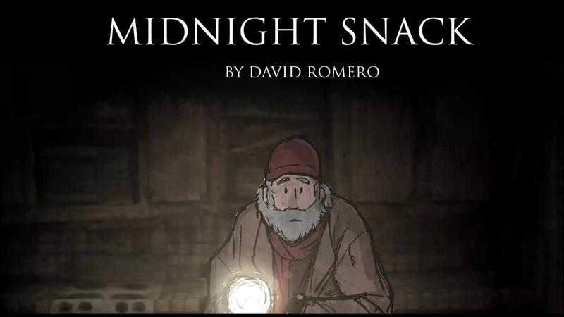 Midnight Snack horror animation by David Romero