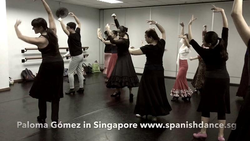 Spanish Dance Technique - Vueltas de Pecho Quebradas