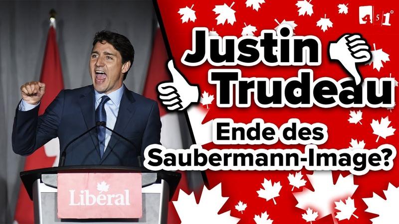 Justin TRUDEAU Kanadischer Saubermann im politischen Sinkflug? 451 Grad