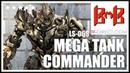 BMB Blackmamba Toys LS 06S MEGA TANK COMMANDER Battle Damage Version Oversize Studio Series Megatron