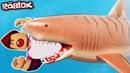 Роблокс СТАЛ МЕГАЛОДОНОМ И ВСЕХ СЪЕЛ летсплей симулятор выживания в ROBLOX SharkBite