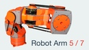 Another 7-axis (7DoF) Brushless Robot Arm (axis 4 and 5, part 6)