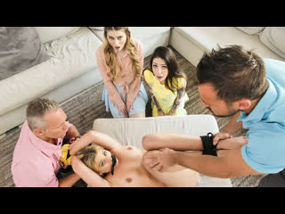 Harlowe blue, bunny colby disciplinary daughter orgy