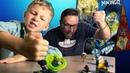 LEGO ninjago бой мастеров кружитцу новые спинеры и пускатели